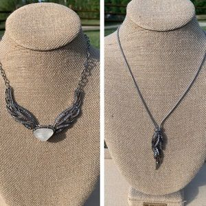Chloe + Isabel Silverwing Necklace Duo